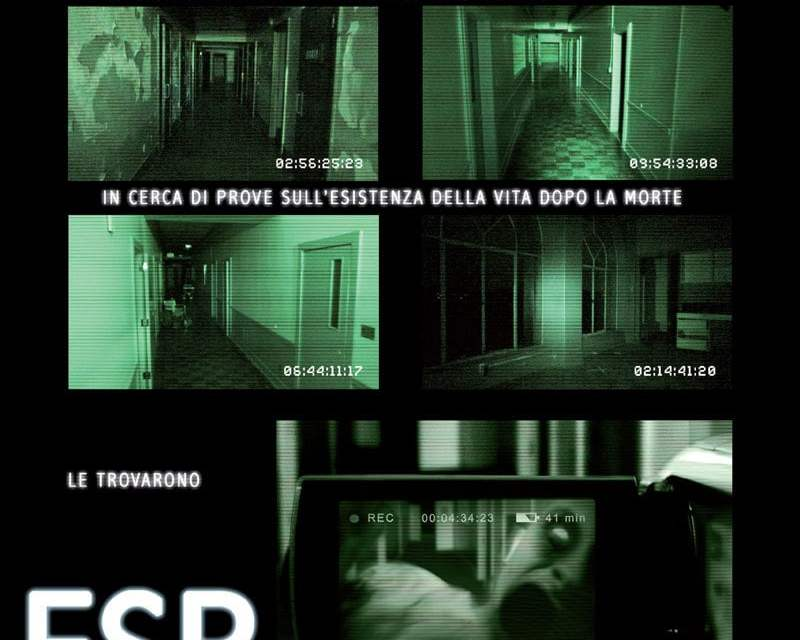 "Poster for the movie ""ESP - Fenomeni paranormali"""