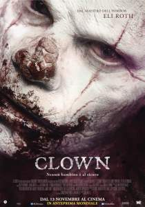 "Poster for the movie ""Clown"""