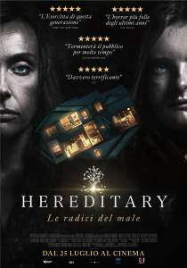 "Poster for the movie ""Hereditary - Le radici del male"""