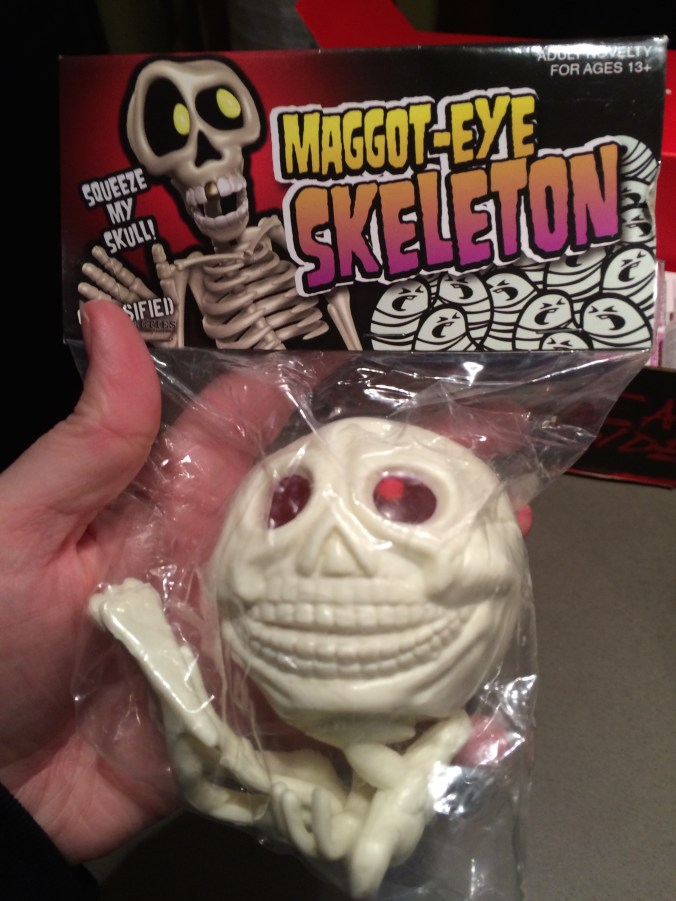 Maggot-Eye Skeleton