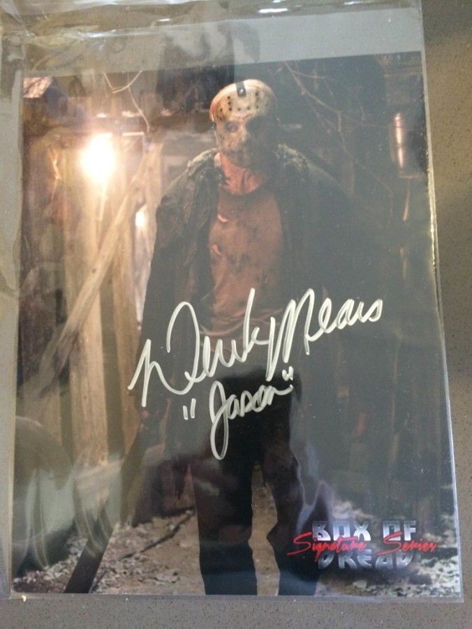 Derek Mears Signed Photo