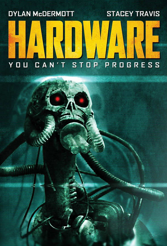 Hardware horror movies poster