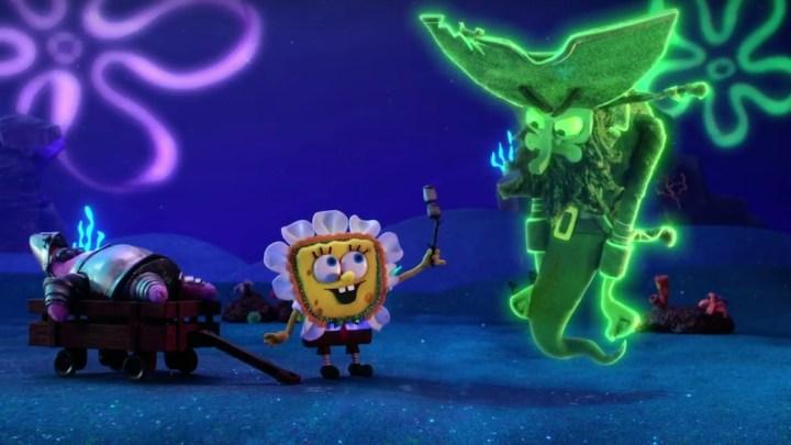Stop Motion Spongebob Squarepants The Legend Of Boo Kini Bottom