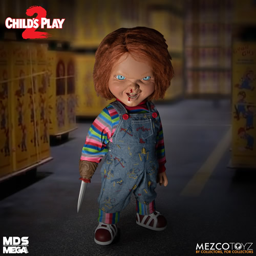 With the release of netflix's selena: Mezco Reveals Details On Talking Menacing Chucky From