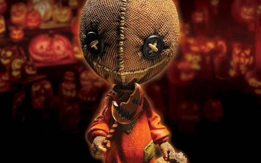 Mezco Toyz is Giving Us an AMAZING Sam Figure from 'Trick 'r Treat!'