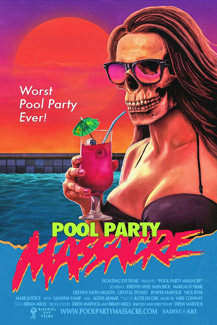 No One is Safe in the First Trailer for 'Pool Party Massacre'