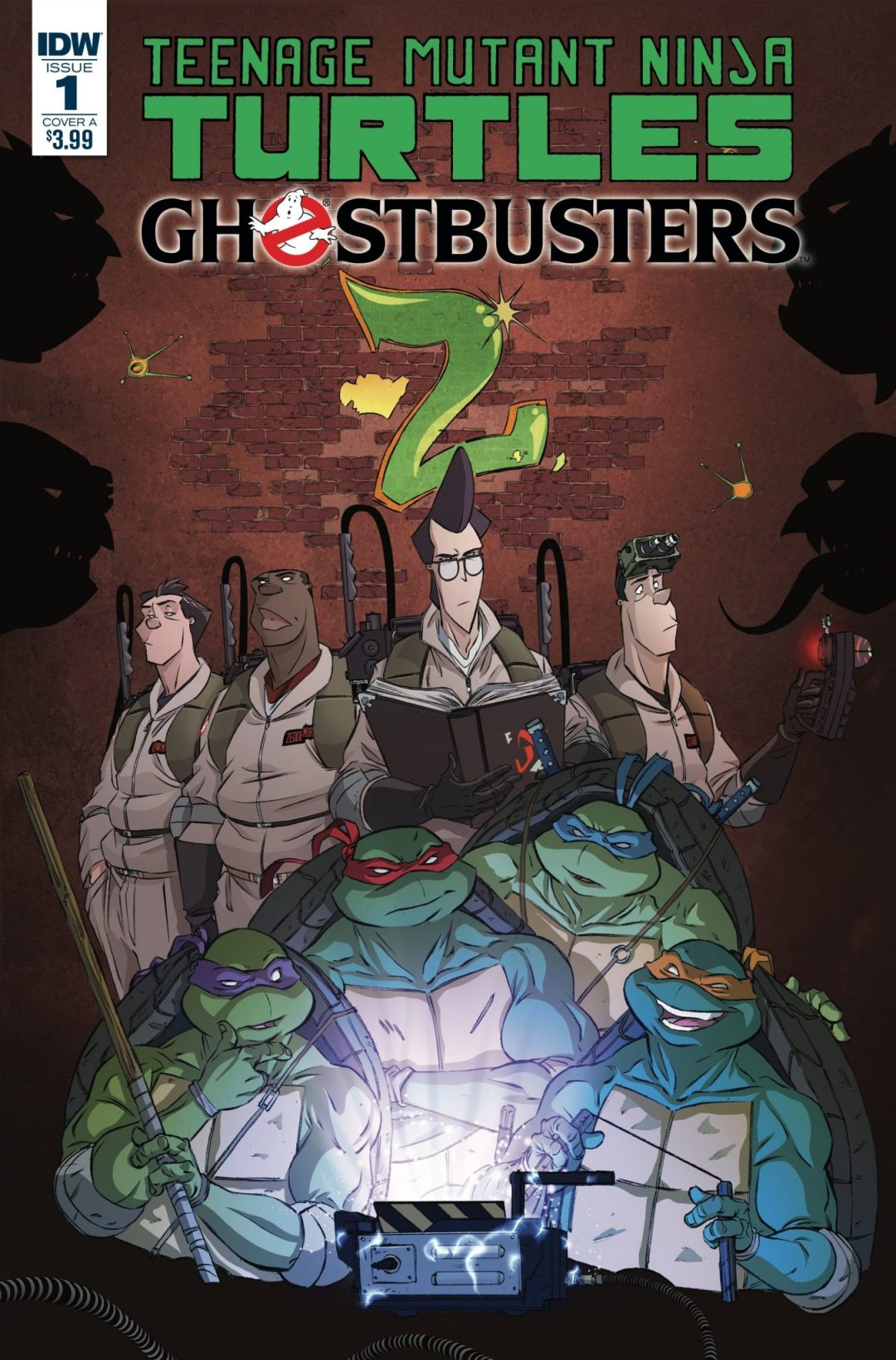 'Teenage Mutant Ninja Turtles/Ghostbusters' Comic Book Crossover Sequel Coming