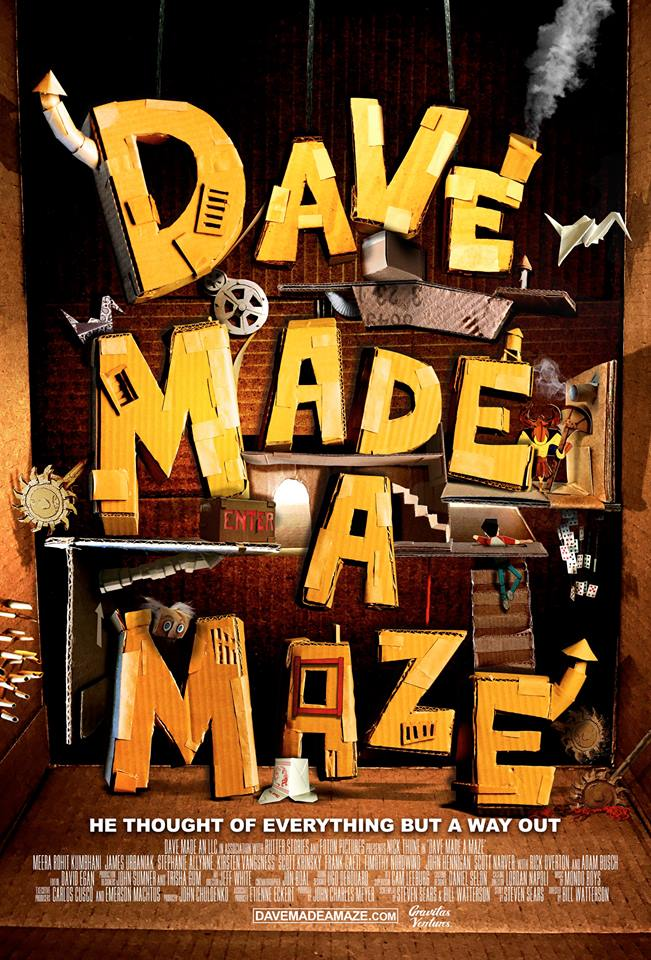 'Dave Made A Maze' in This Brand New Trailer!