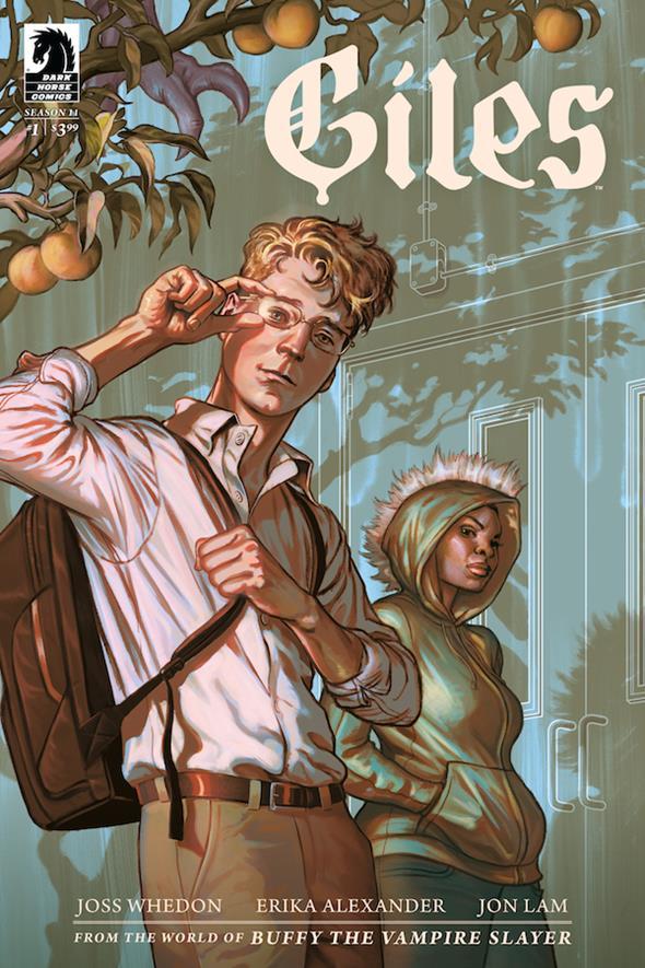 Dark Horse Announces 'Buffy the Vampire Slayer: Giles'