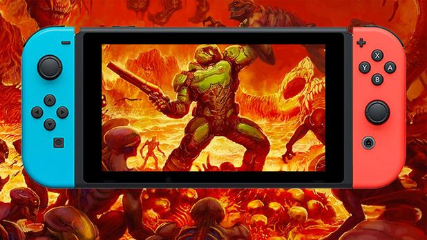 'Doom' is Now Available on the Nintendo Switch!