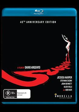 Suspiria – Blu-ray Review