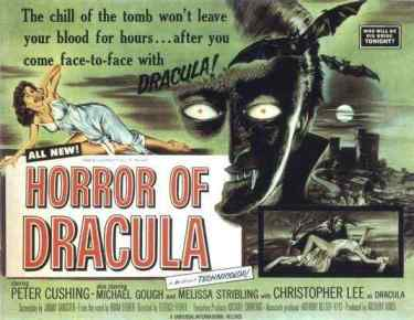 Horror of Dracula movie poster