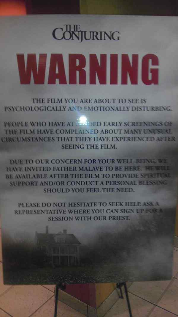 The Conjuring screening 2