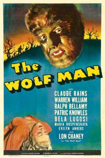The Wolf Man 1941 movie poster