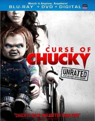 Curse of Chucky bluray cover