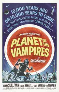 Planet of the Vampires movie poster