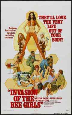 Invasion of the Bee Girls movie poster