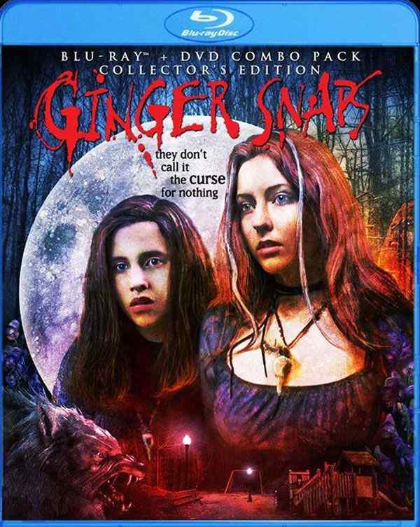 Ginger Snaps Bluray key art