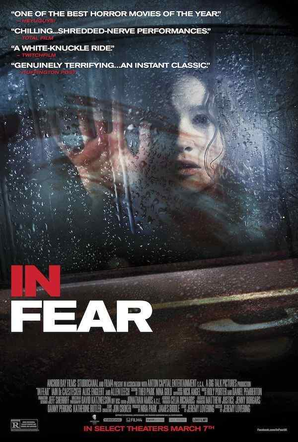 In Fear Theatrical Poster