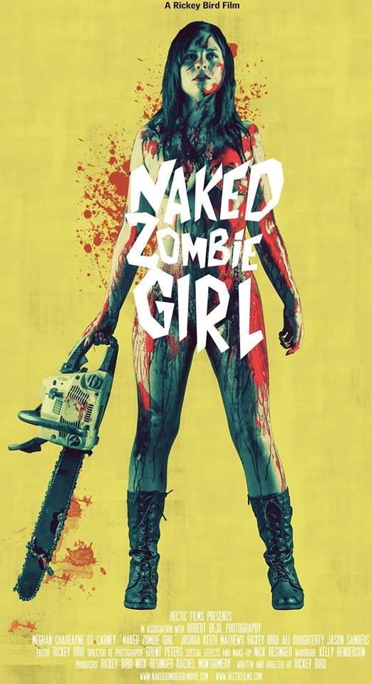 Naked Zombie Girl movie poster 2