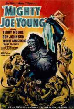 Mighty Joe Young 1949 movie poster