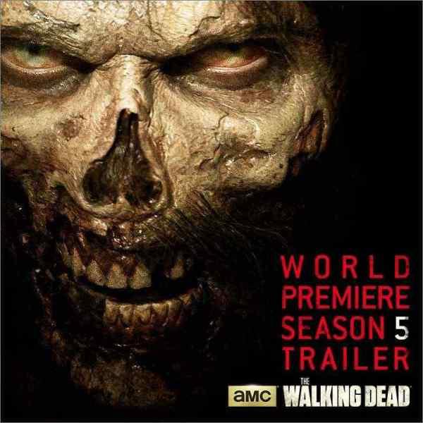 The Walking Dead Season 5 trailer premiere