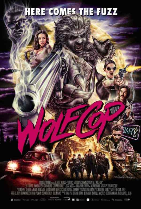 Wolf Cop Official movie poster 2
