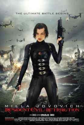 Resident Evil Retribution movie poster