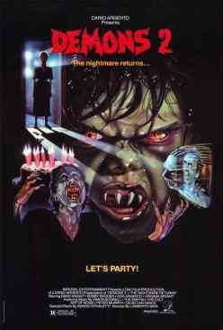 Demons 2 movie poster