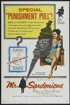 Mr. Sardonicus movie poster