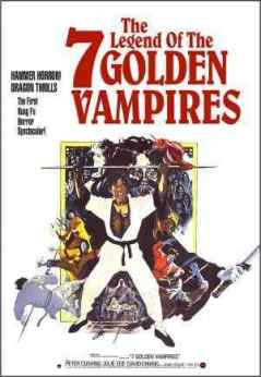 The Legend of the 7 Golden Vampires movie poster