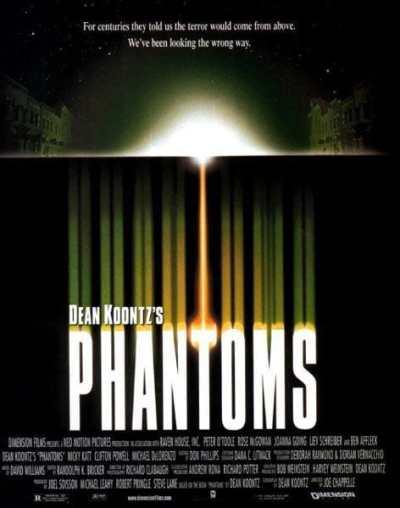 Phantoms movie poster