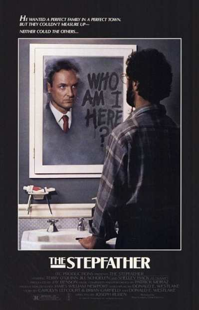 The Stepfather 1987 movie poster