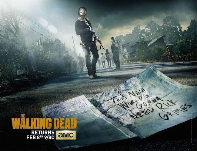 The Walking Dead Season 5.5 poster