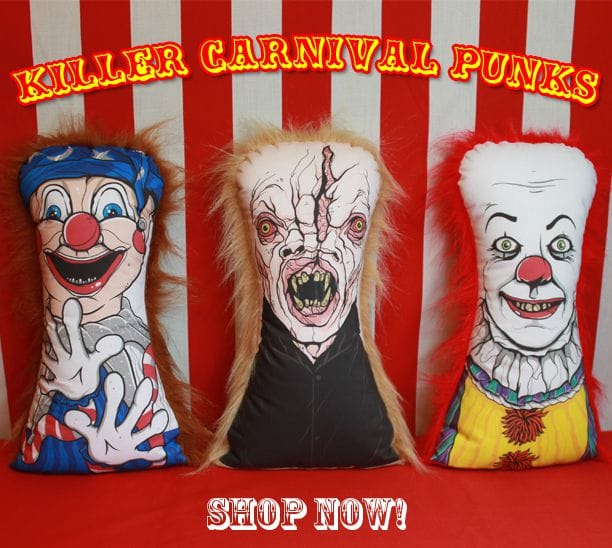 Killer Carnival Punks Are On The Loose From Horror Decor