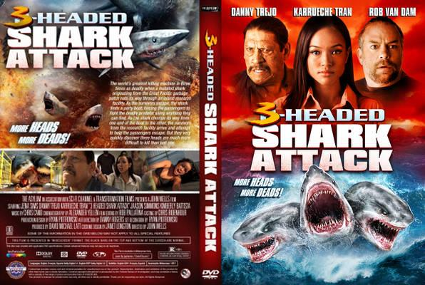 3 Headed Shark 2015 Front Cover 104163