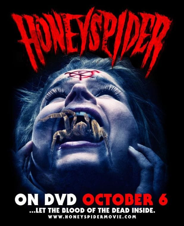 Honeyspider hits DVD October 6 - Trailer and Stills