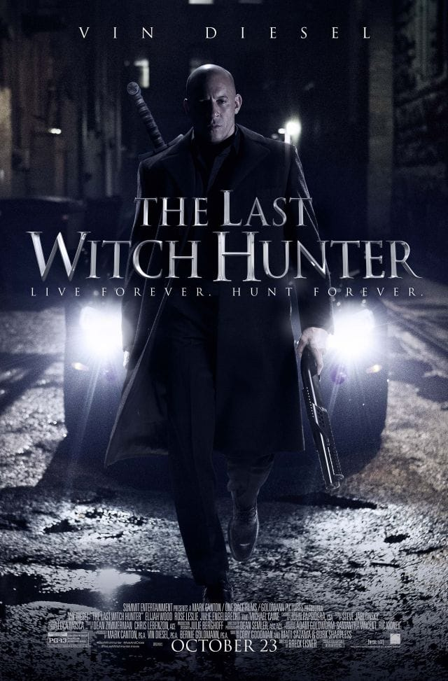 The Last Witch Hunter - Final Poster
