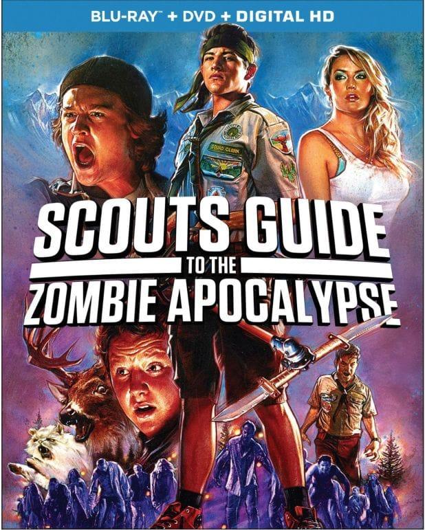 Scouts Guide Zombie blu