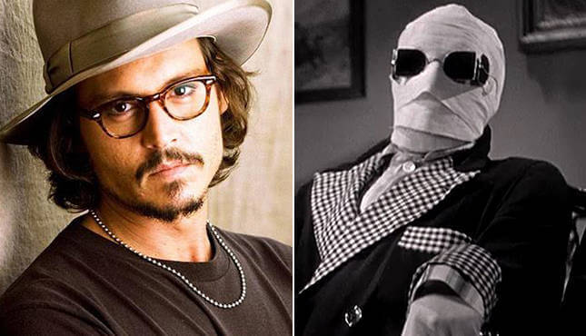 Johnny Depp - Invisible Man