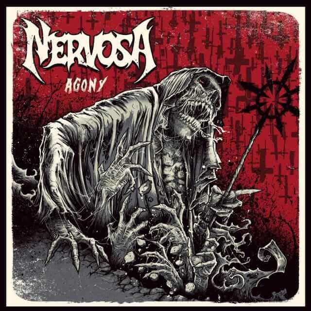 Nervosa Agony cover