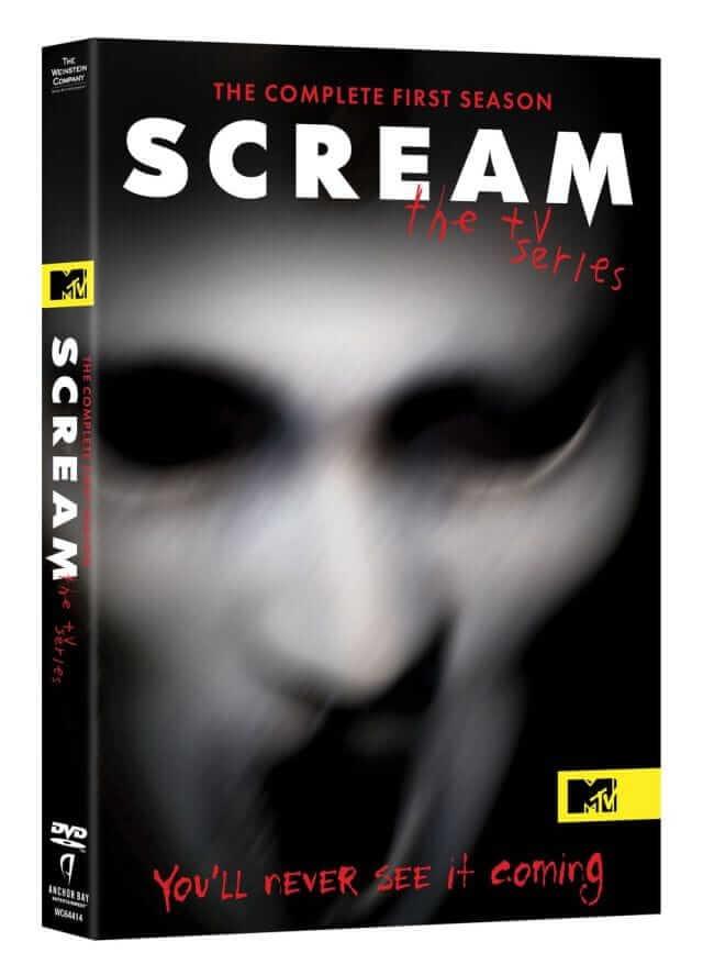 Scream tv series dvd cov