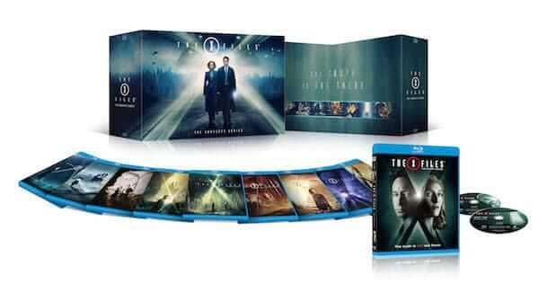 The X-Files Bluray box sset