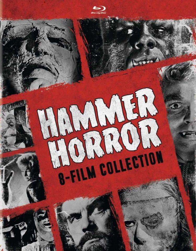 Hammer Horror 8 pack