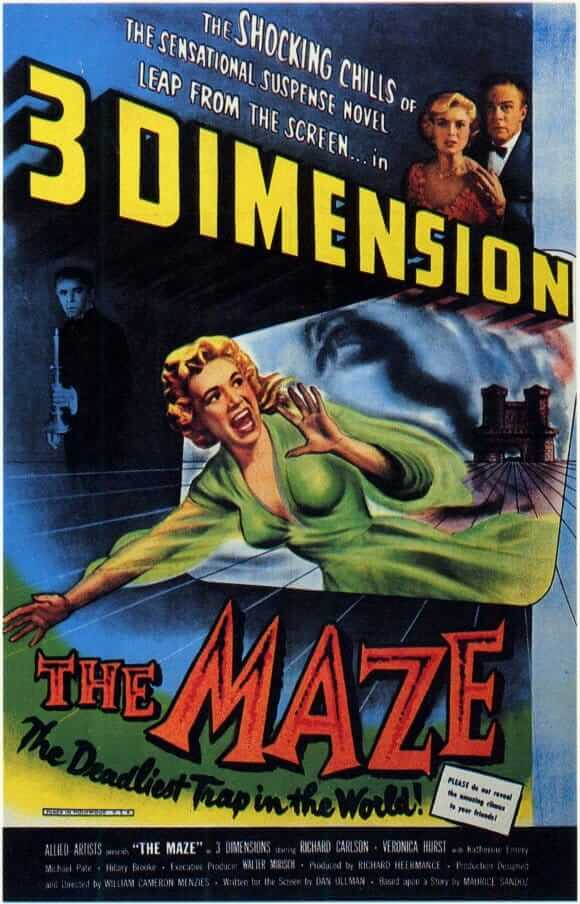 The Maze movie poster