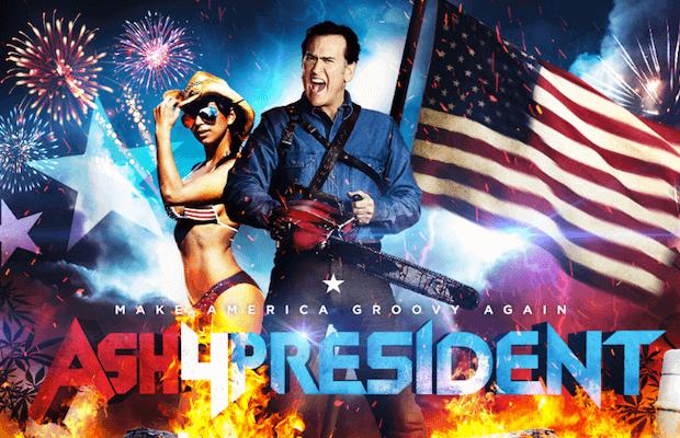 Ash4President poster3
