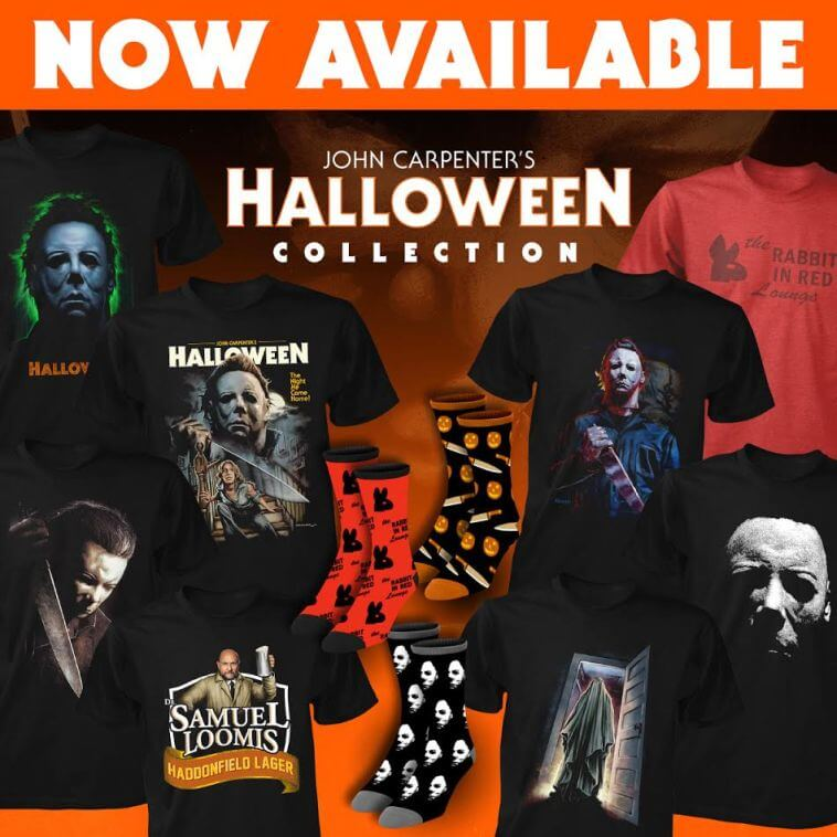 a26b4074 Fright-Rags To Honor John Carpenter's Classic Film HALLOWEEN With New  Apparel!   Horror Society