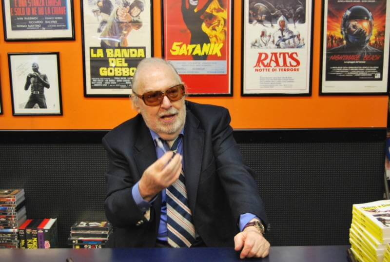 Breaking: Cult Italian Director Umberto Lenzi Has Passed Away.