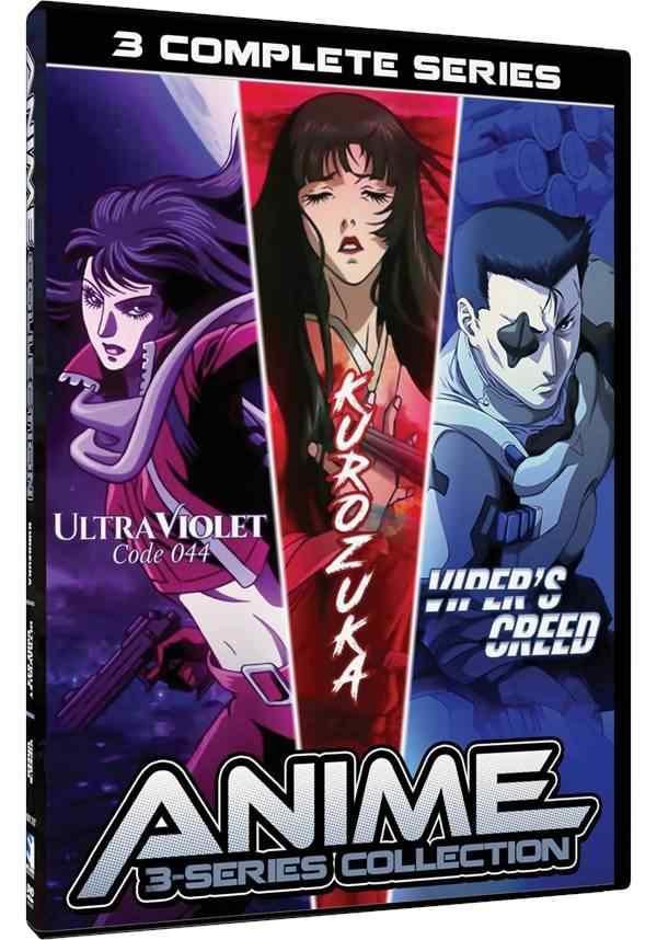 Anime Collection - Kurozuka, Ultraviolet Code 044, Viper's