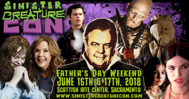 Sinister Creature Con claws its way into Sacramento, Ca this